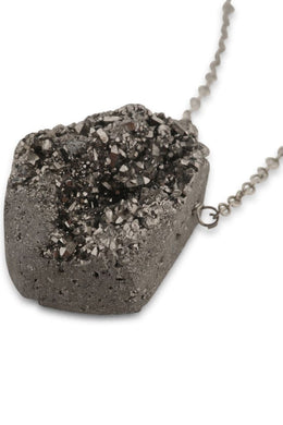 Assorted Cosmic Druzy Necklace