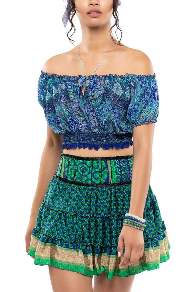 Assorted Festival Tiered Skirt