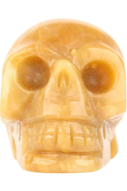 Assorted Gemstone Skull