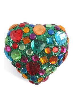 Assorted Glitter Heart Boxes