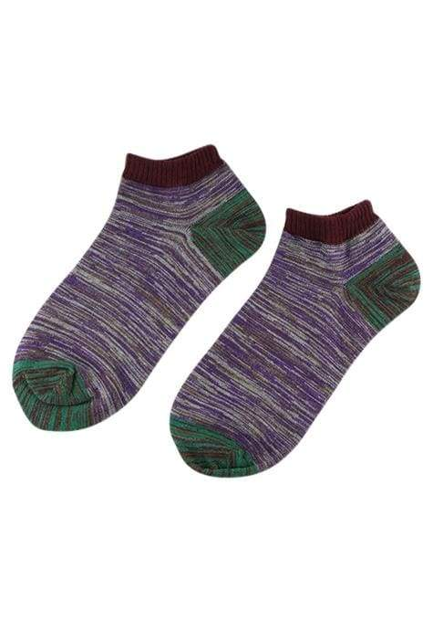 Assorted Mens Anklet Hippy Socks