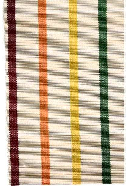 Bamboo Rainbow Stripe Placemat