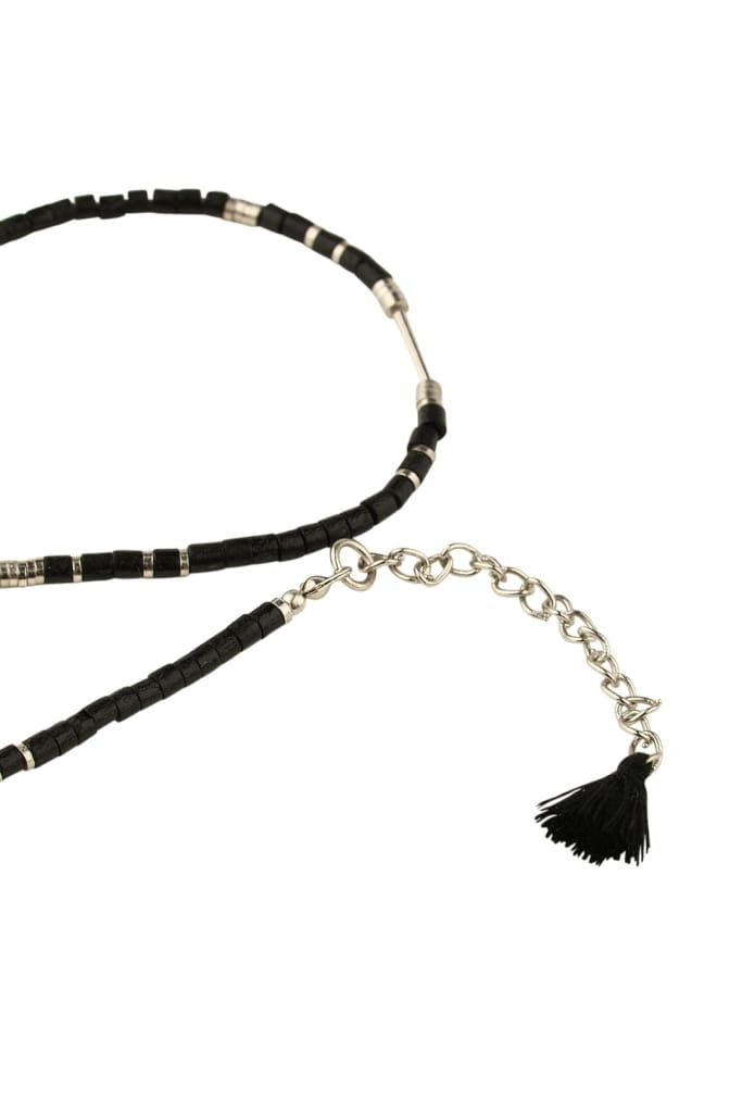 Beaded Tribal Choker Necklace