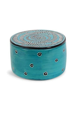 Blue Soapstone Box