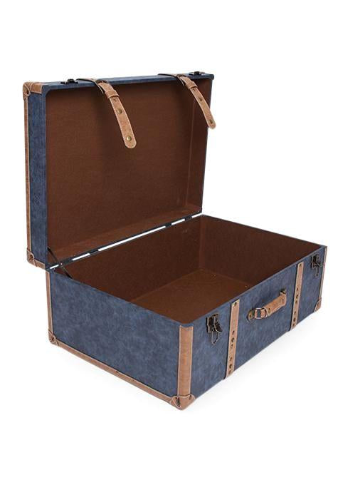 Blue Travel Trunk