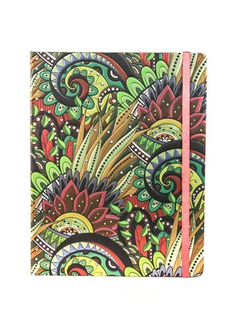 Bright Tropical Foil Notebook