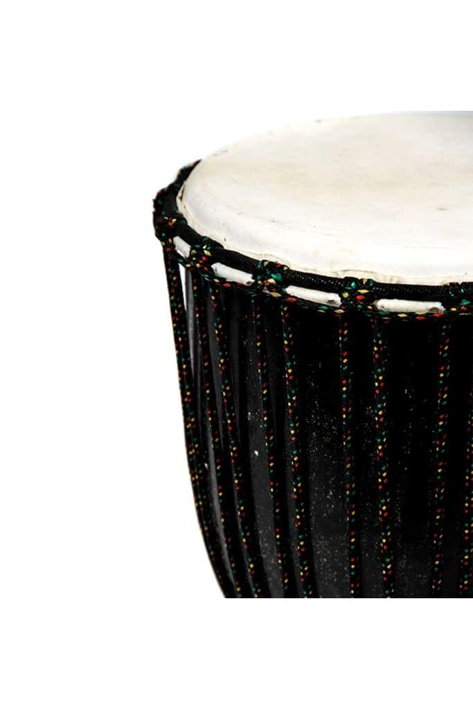 Carved Djembe Drum