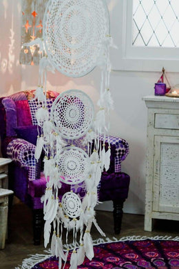 Crochet 4 Ring Dreamcatcher