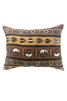 Authentic Earthone Mudcloth Cushion