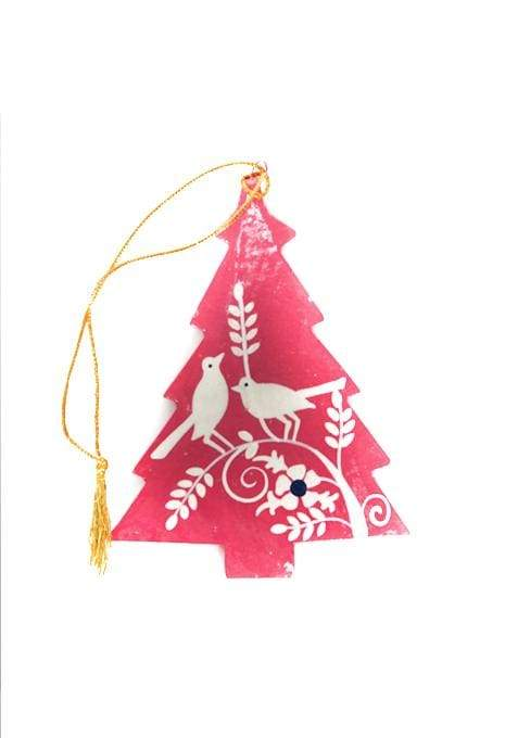 Decoration Christmas Kashmiri Tree 7.6cm