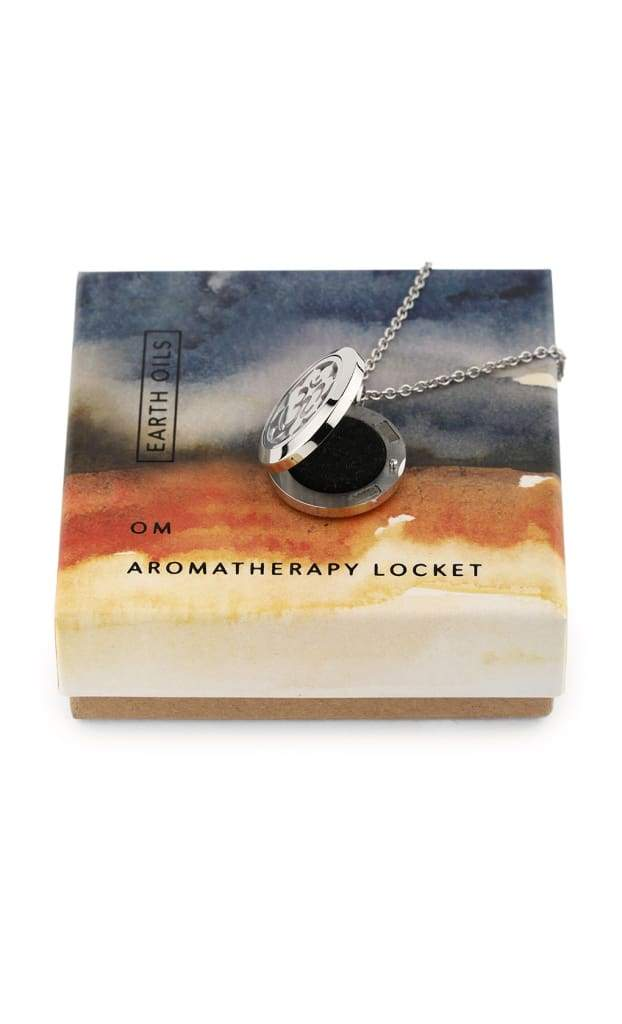 Earth Oils Aromatherapy Locket Necklace
