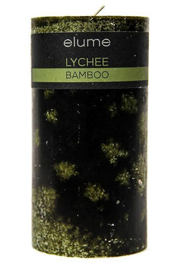 Elume Lychee Bamboo Candle