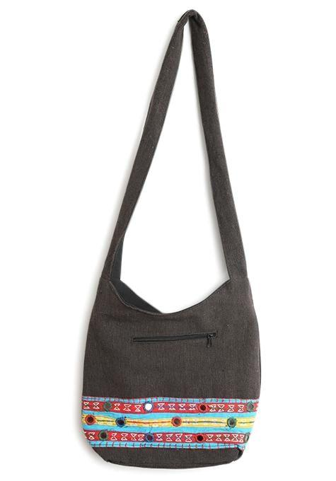 Embroidery Khadi Bag