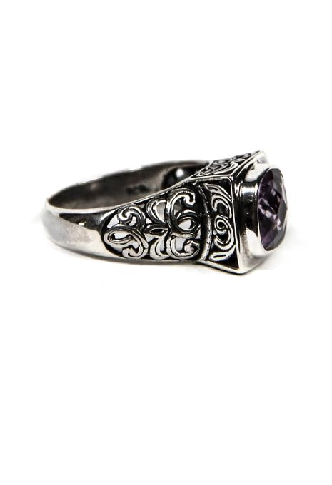 Filigree Amethyst Ring