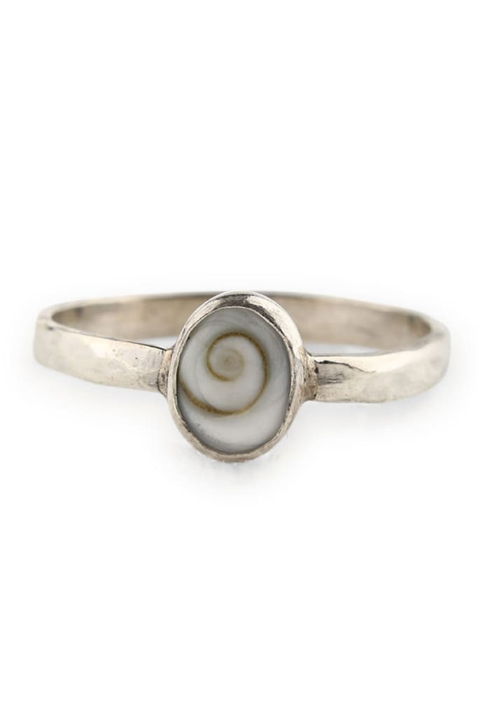 Fine Siwa Shell Ring