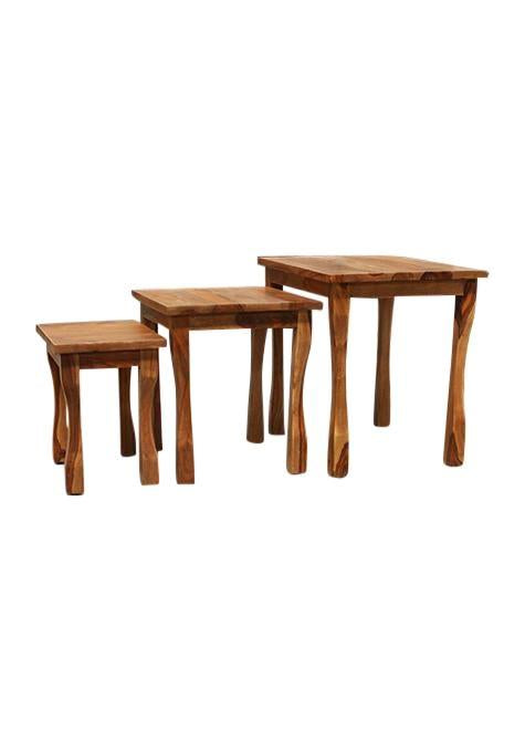 French Set Of 3 Tables