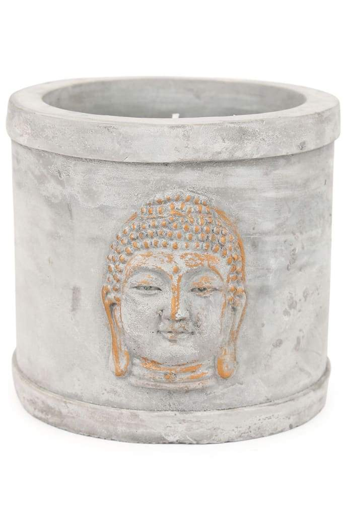 Gold Buddha Potted Citronella Candle