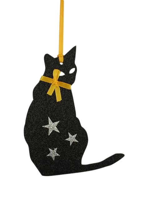 Halloween Hanging Ornament Cat