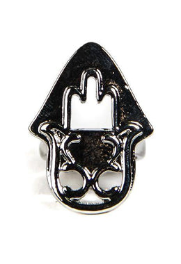 Hamsa Shield Ring