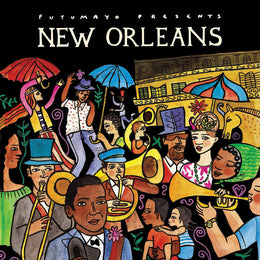 Putumayo World Music CD 'New Orleans'