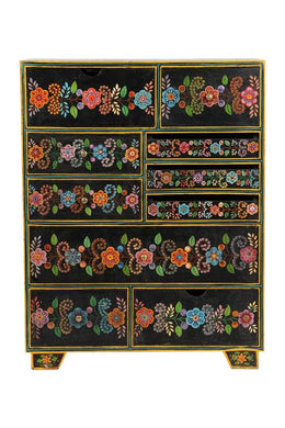 Kali Ten Drawer Cabinet