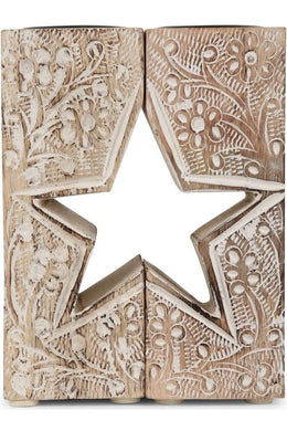 Kashmiri Star Candle Holder