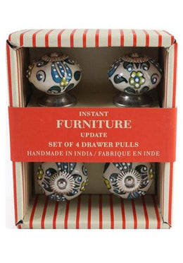 Knob Ceramic Set Of 4