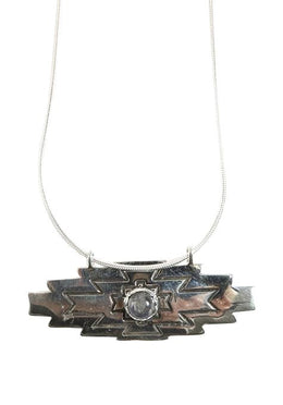 Labradorite Aztec Necklace