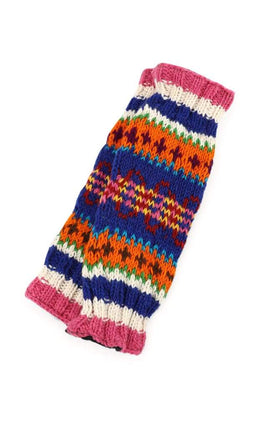 Leg Warmer Knitted Wool