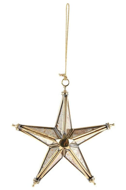 Mirror Star Decoration