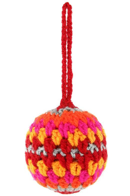 Multi Crochet Bauble Decoration