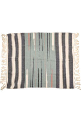 Multi Handloom Cotton Throw