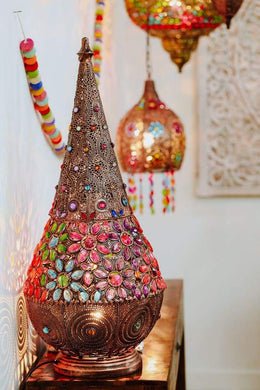 Multicolour Genie Table Lamp