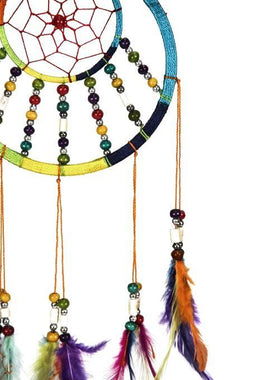 Multicoloured Beads Dream Catcher