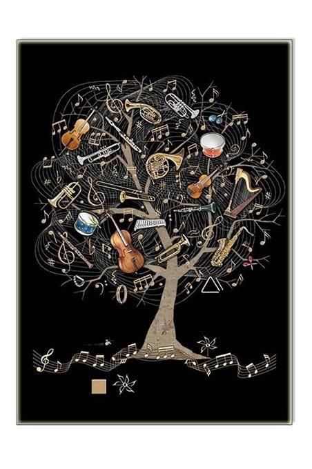 Music Tree Card