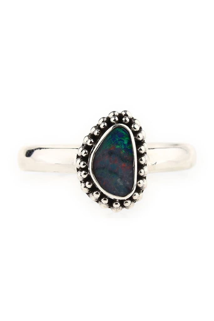 Natural Shape Opal Ring