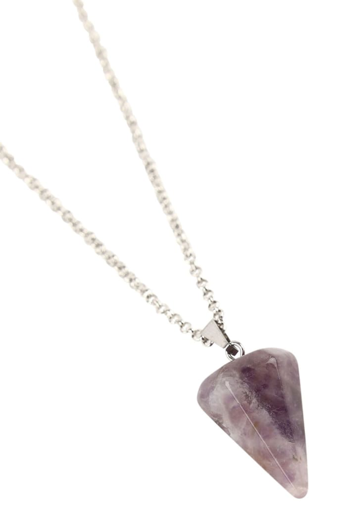 Necklace Pendulum Amethyst