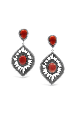 Antique Gemstone Earring