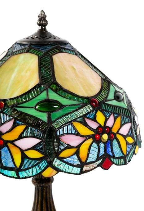 Orange Flower Tiffany Lamp