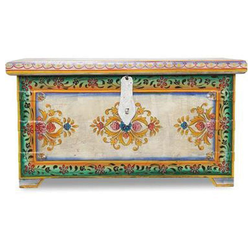 Ornamental Painted Chest