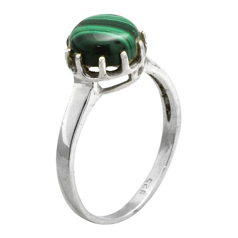 Ornate Malachite Ring
