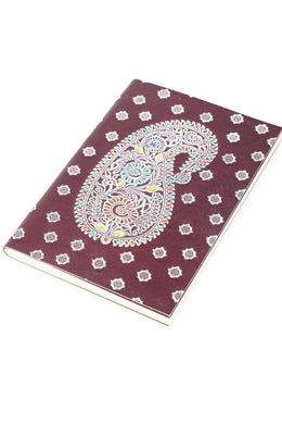 Paisley Leather Journal