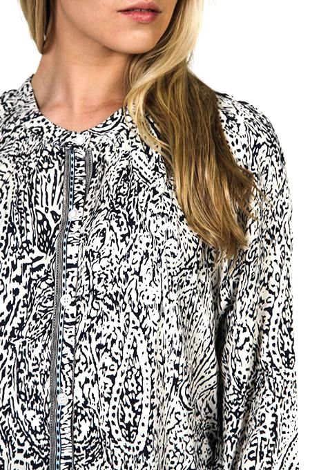 Paisley Shirt Dress