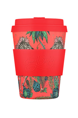 Emma J Shipley 'Lost World' Ecoffee Cup 12oz/340ml