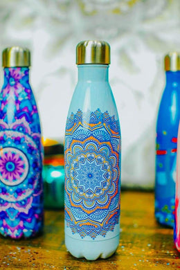 Printed Water Bottle Flask