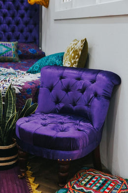 Purple Princess Chair