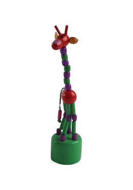 Push Up Giraffe Toy