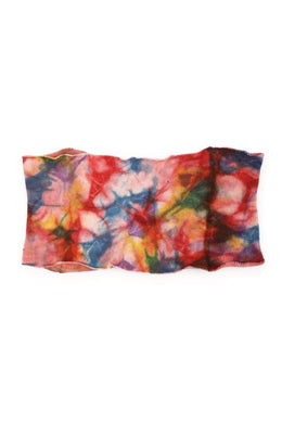 Rainbow Tie Dye Head Wrap