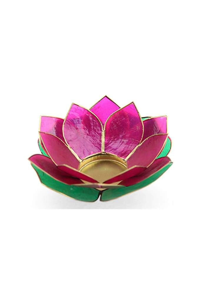 Rangoli Lotus Tealight Holder