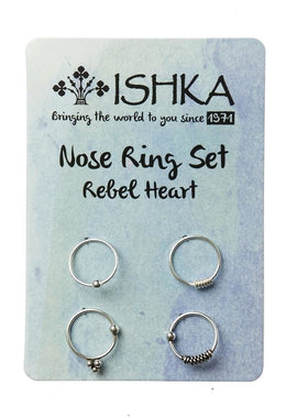 Rebel Heart Nose Rings